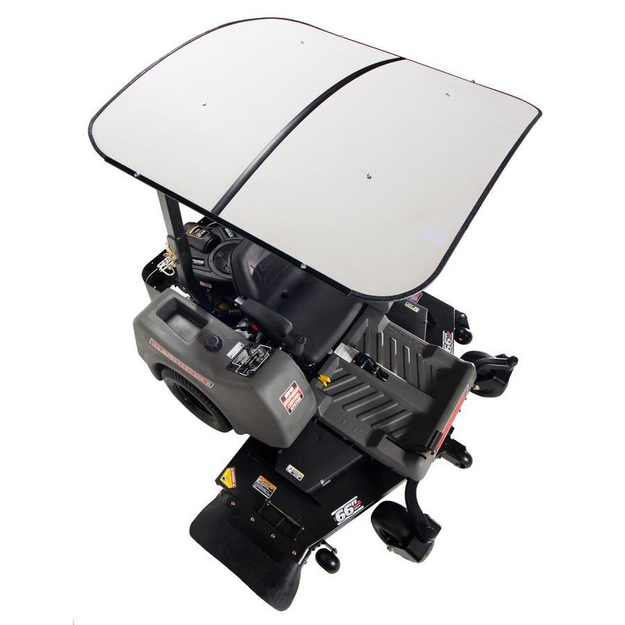Femco White Thermoplastic Lawn Mower Canopy