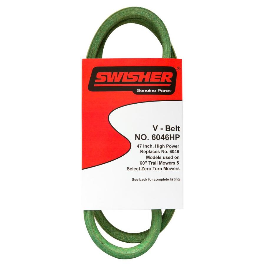 Swisher 60 In Deck Drive Belt For Riding Lawn Mowers At