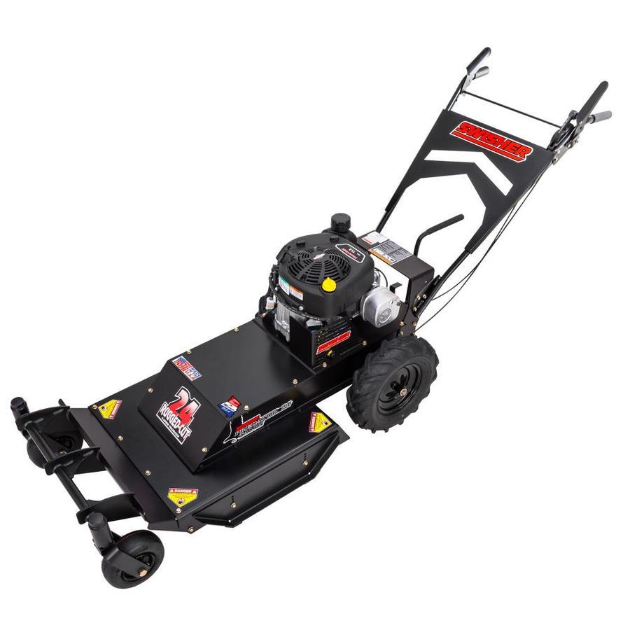 Swisher Predator Talon 344cc 24-in Self-Propelled Rear Wheel Drive Gas Lawn Mower