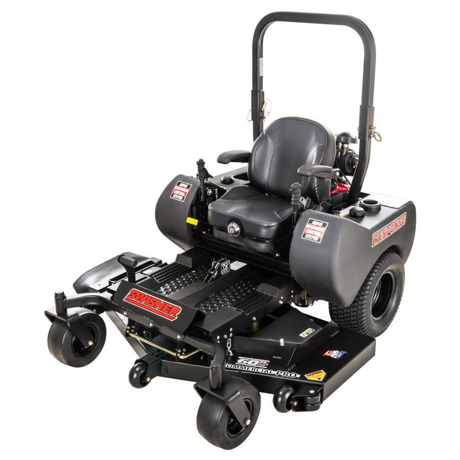 Swisher Response Gen 2 21.5-HP V-Twin Dual Hydrostatic 60-in Zero-Turn Lawn Mower (CARB)