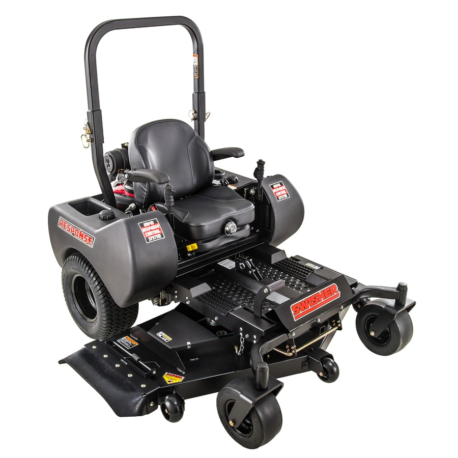 Swisher Response Gen 2 21.5-HP V-twin Dual Hydrostatic 54-in Zero-turn Lawn Mower Mulching Capable CARB