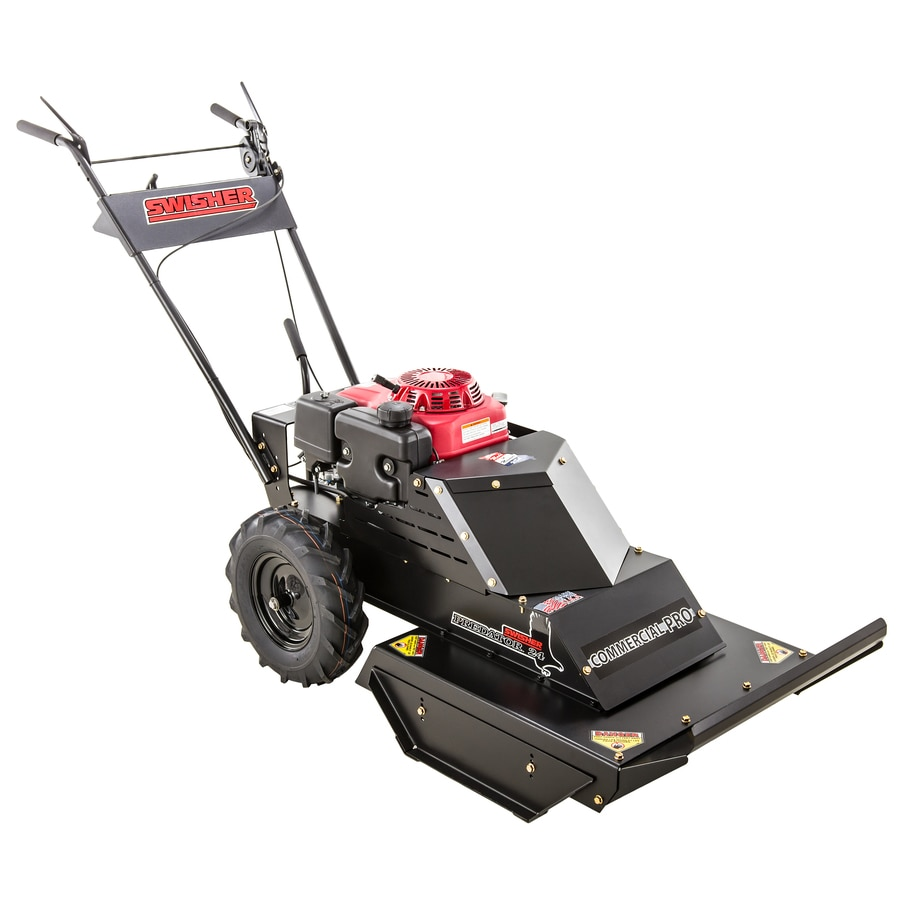 Shop Swisher Predator 389-cc 24-in Self-propelled Gas Lawn Mower with Honda Engine at ...