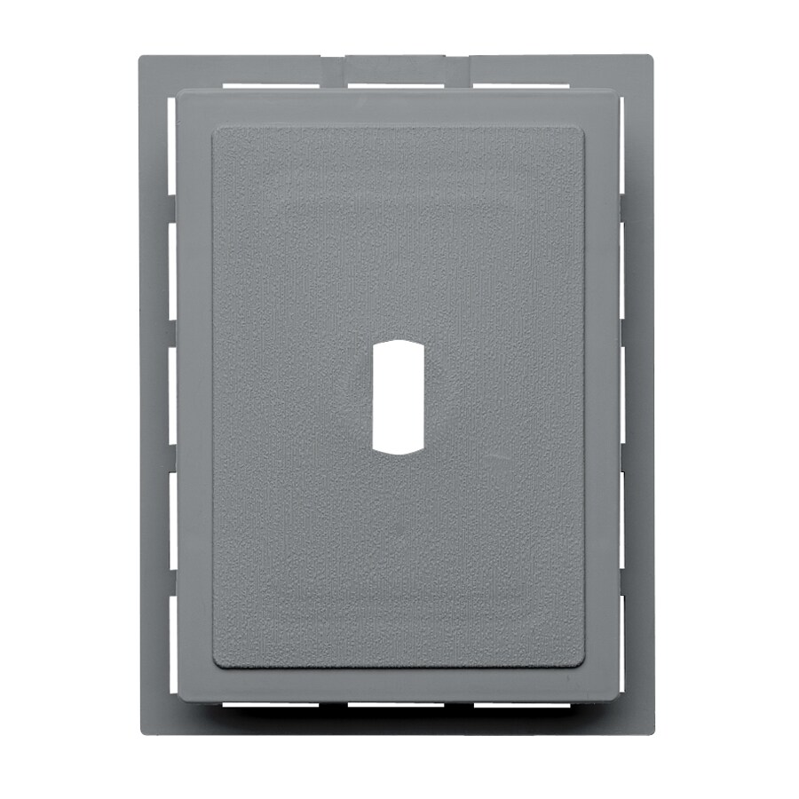 Durabuilt 6.875-in x 5.5-in Wedgewood/Pebble Vinyl Electrical Mounting Block