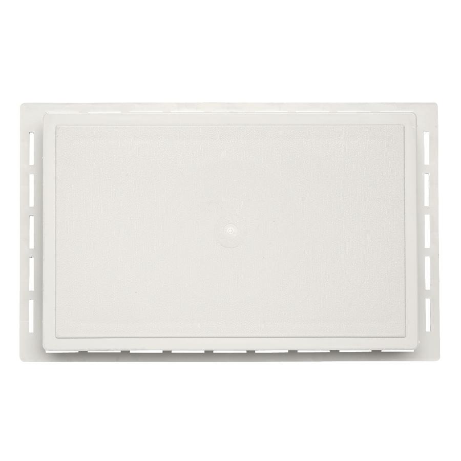 Durabuilt 1.625-in x 7.75-in Linen/Pebble Vinyl Universal Mounting Block
