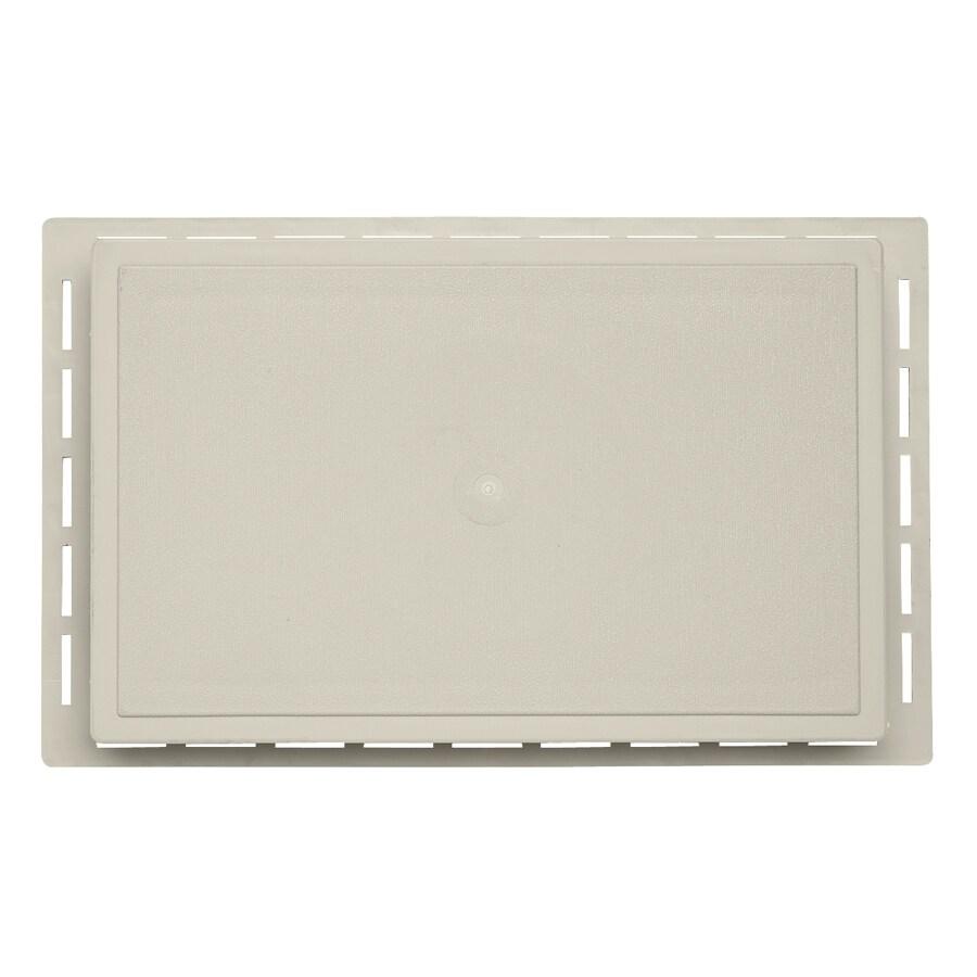 Durabuilt 1.625-in x 7.75-in Almond/Pebble Vinyl Universal Mounting Block