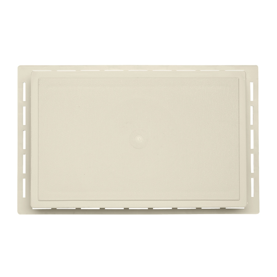 7.875-in x 12.625-in Cream Vinyl Universal Mounting Block