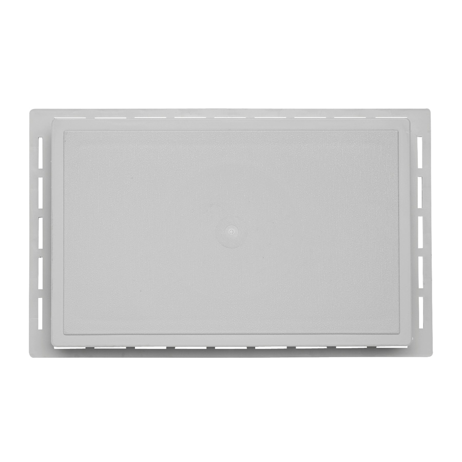 7.875-in x 12.625-in Gray Vinyl Universal Mounting Block