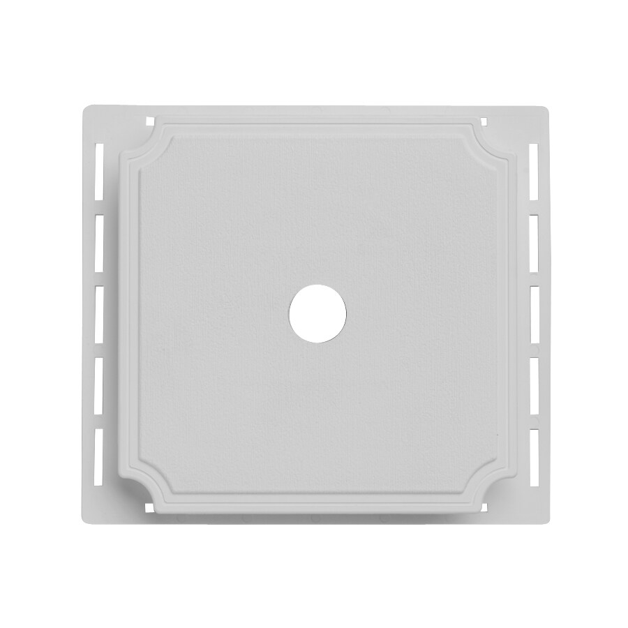 7-in x 7-in Gray Vinyl Universal Mounting Block