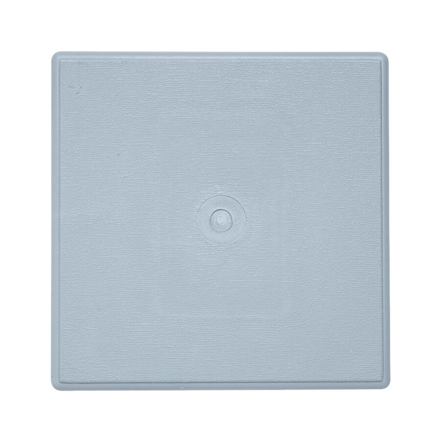 6.625-in x 6.625-in Blue Vinyl Universal Mounting Block