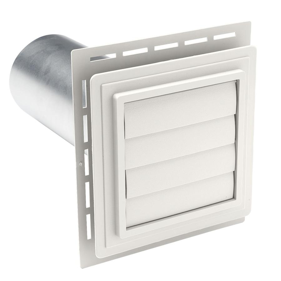 Shop Durabuilt 4 In Dia Plastic R2 Exhaust Dryer Vent Hood