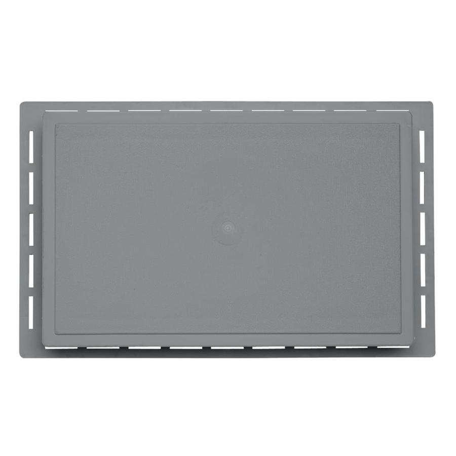 Durabuilt 1.625-in x 7.75-in Wedgewood/Pebble Vinyl Universal Mounting Block