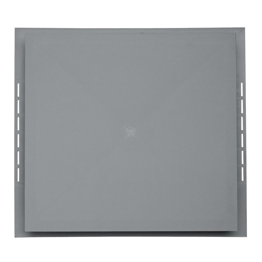 Durabuilt 18.5-in x 16.75-in Wedgewood/Pebble Vinyl Universal Mounting Block