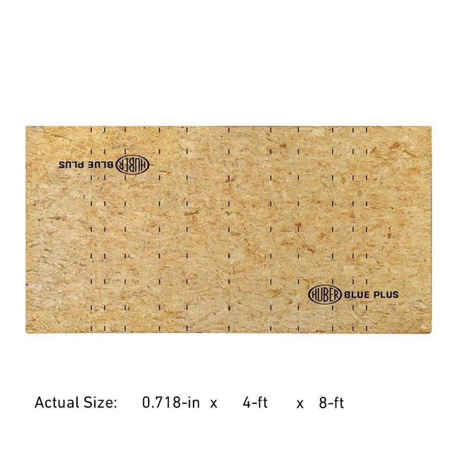 Huber Blue 23/32 CAT PS2-10 Tongue and Groove OSB Subfloor, Application as 4 x 8