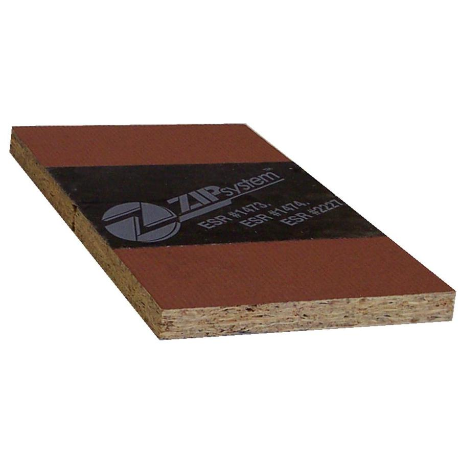 ZIP System OSB Sheathing 1/2 CAT PS2-10 (Common: 1/2 x 4-ft x 8-ft; Actual: 0.50-in x 48-in x 96-in)