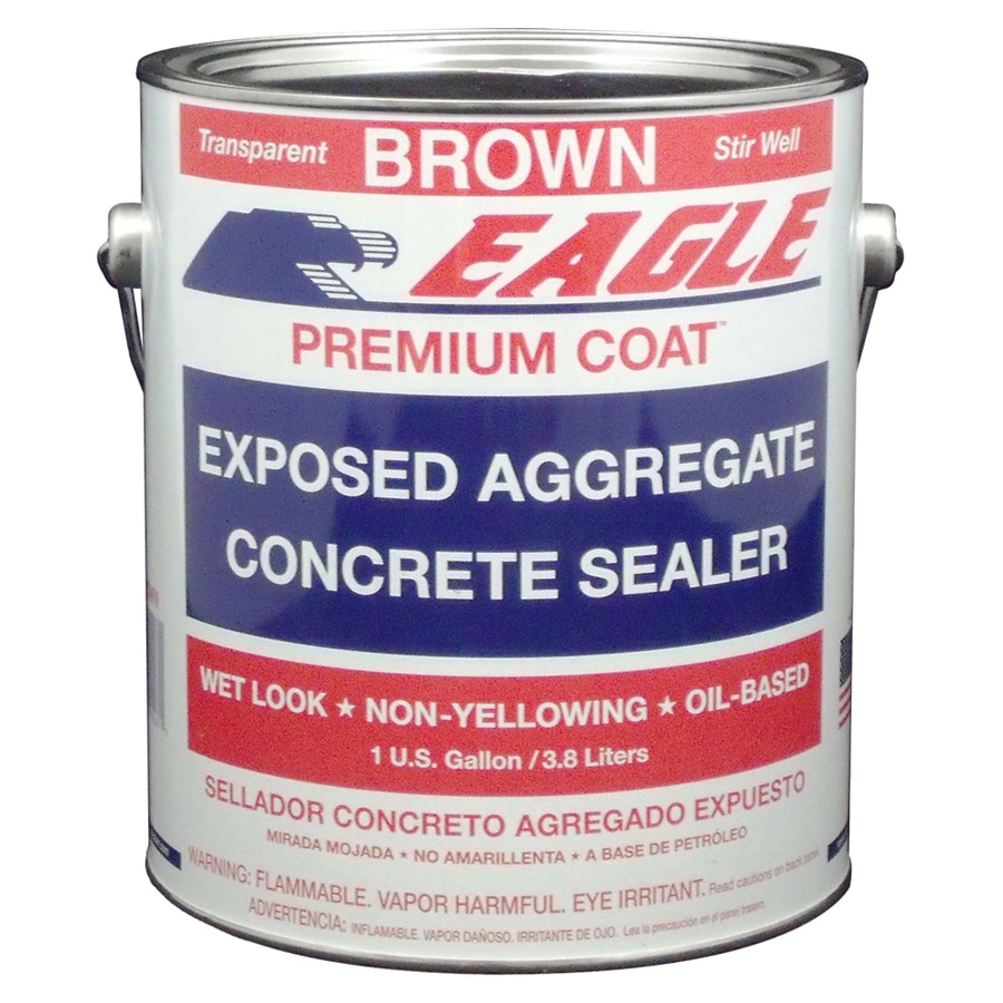 Eagle Brown High-Gloss Waterproofer (Actual Net Contents: 1-Gallon)