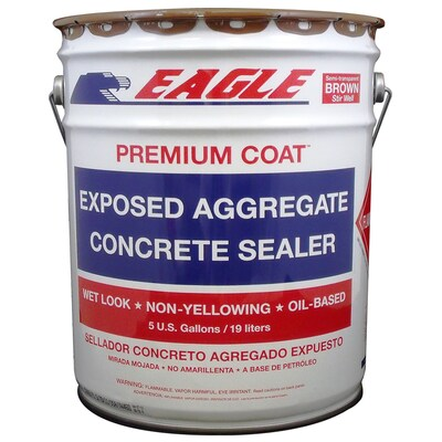 Eagle Brown High-Gloss Waterproofer (5-Gallon)