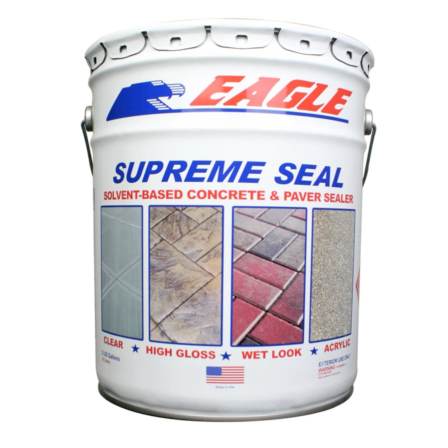 Eagle Clear High Gloss Waterproofer Actual Net Contents 5 Gallon