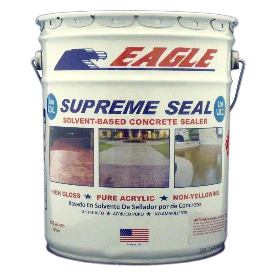 Eagle Clear High Gloss Waterproofer Actual Net Contents 1 Gallon