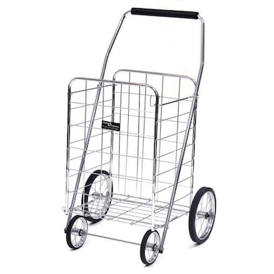 Easy Wheels Collapsible Steel Shopping Cart at Lowes com