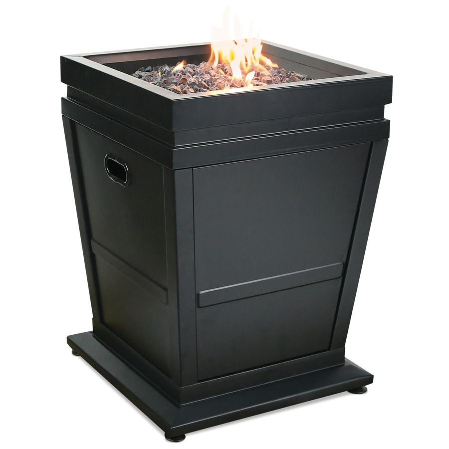 Blue Rhino 20-in W 30,000-BTU Black Steel Liquid Propane Fire Column