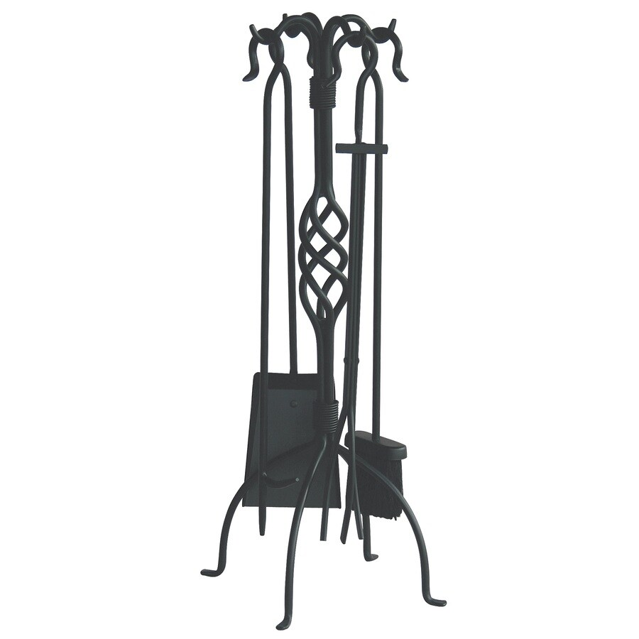Blue Rhino 5-Piece Iron Fireplace Tool Set
