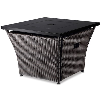 W 50000 Btu Steel Fire Table At Lowes