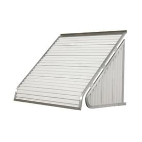 Nuimage Awnings 42 In Wide X 24 In Projection Solid Slope Window Awning