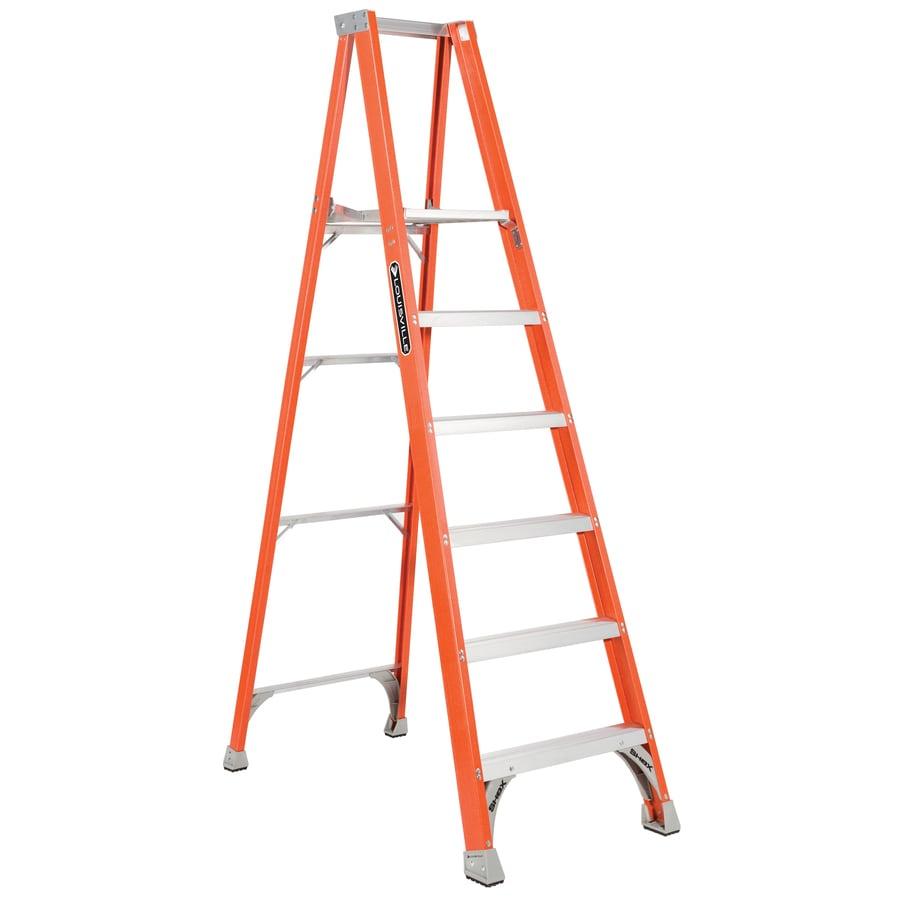 Louisville 5-ft Fiberglass 300-lb Type IA Platform Ladder