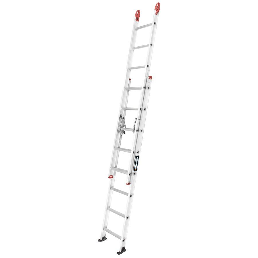 Shop Black Decker 16 Ft Aluminum 250 Lb Type I Extension Ladder At