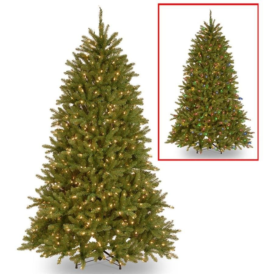 National Tree Company 6 5 Ft Pre Lit Dunhill Fir