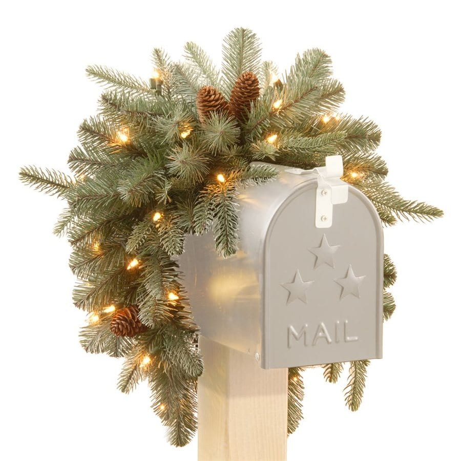 Pvc Battery Operated Outdoor Christmas Decorations At Lowes Com