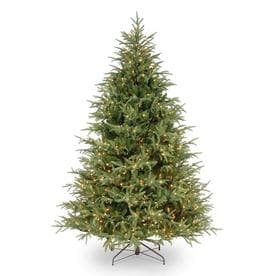 National Tree Company Full 7.5ft Frasier Grande Artificial Tree Clear