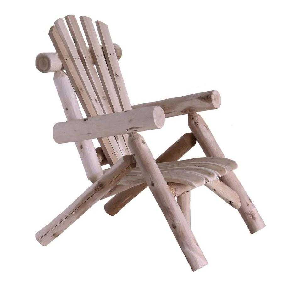 Lakeland Mills Cedar Patio Conversation Chair