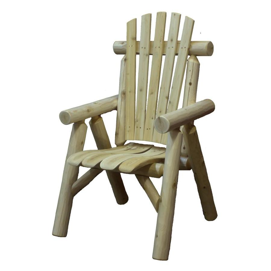 Lakeland Mills Natural Cedar Cedar Patio Dining Chair