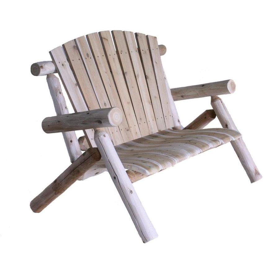 Lakeland Mills 50-in W x 50-in L Patio Bench