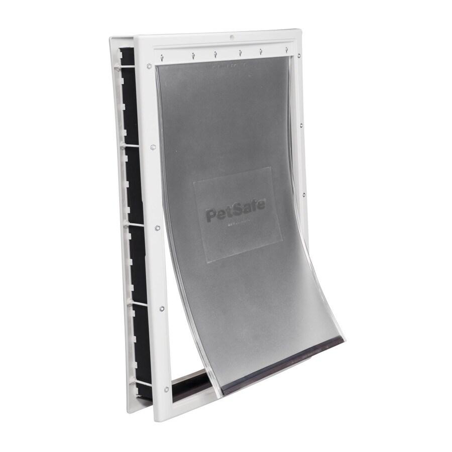 PetSafe Plastic X-Large White Plastic Pet Door (Actual: 23.625-in x 13.625-in)