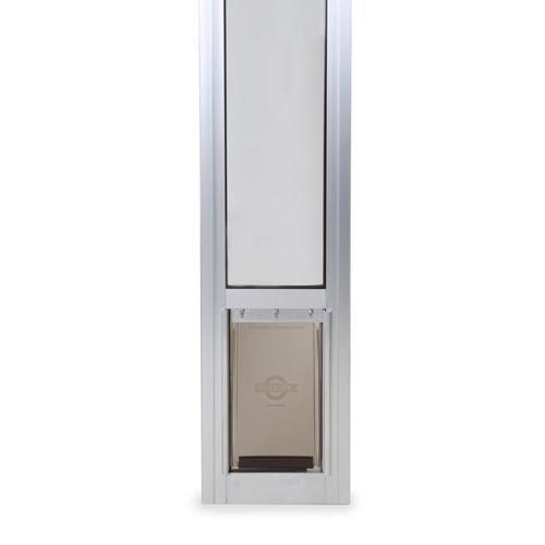 Petsafe Patio Panel Small Satin Aluminum Sliding Pet Door