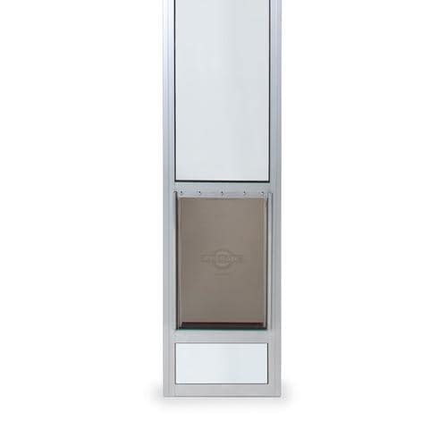 Petsafe Patio Panel Large Satin Aluminum Sliding Door Pet