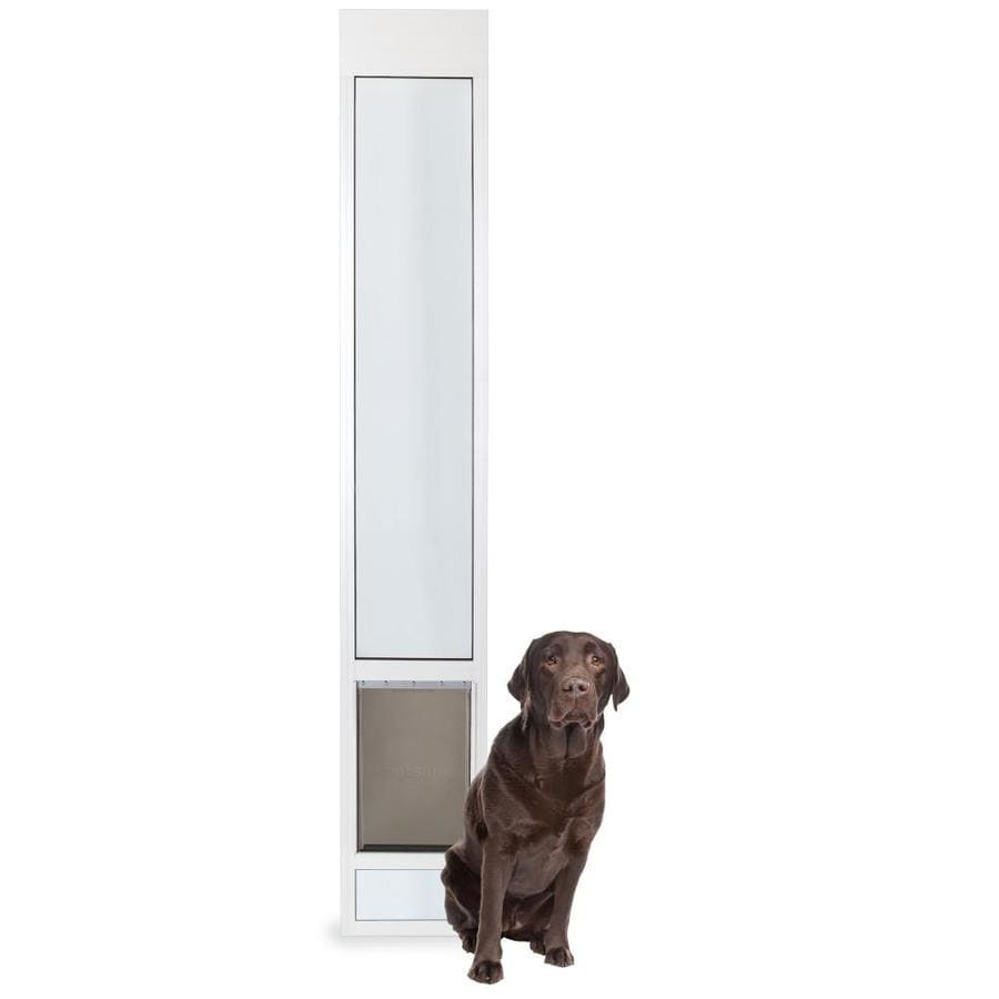 Shop Petsafe Patio Panel Large White Aluminum Sliding Pet