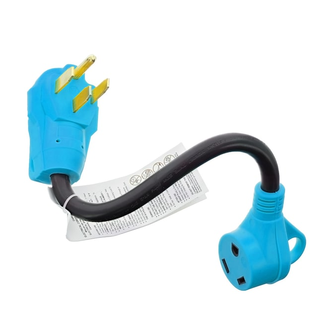 Road Home 15 Amp 125 Volt Heavy Duty 4 Wire Grounding Straight Connector In The Plugs Connectors Department At Lowes Com