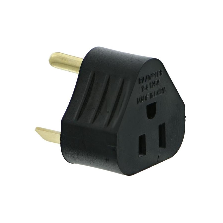 shop road home 15 amp 125 volt black 3 wire grounding connector at rh lowes com
