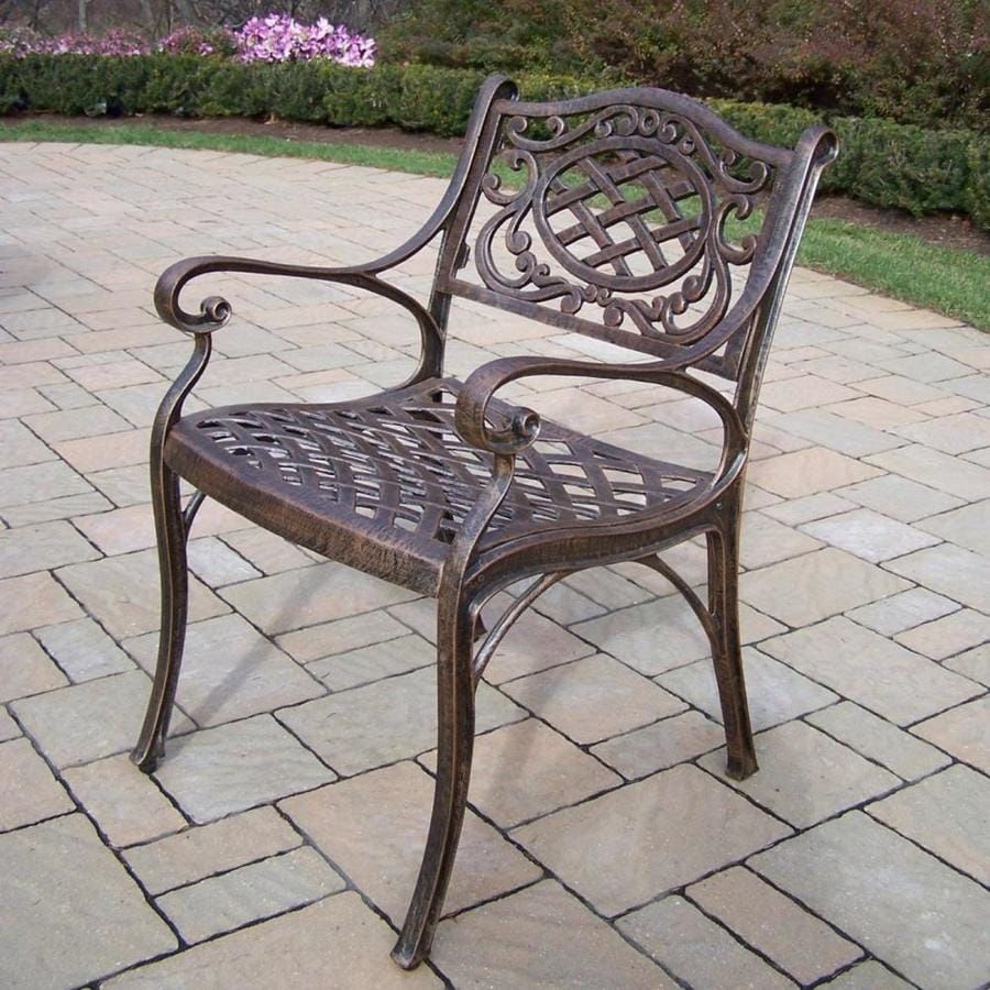 Oakland Living Mississippi Metal Stationary Dining Chair S