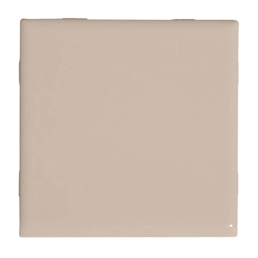 American Olean Starting Line White Gloss Ceramic Bullnose Tile (Common: 4-in x 4-in; Actual: 4.25-in x 4.25-in)