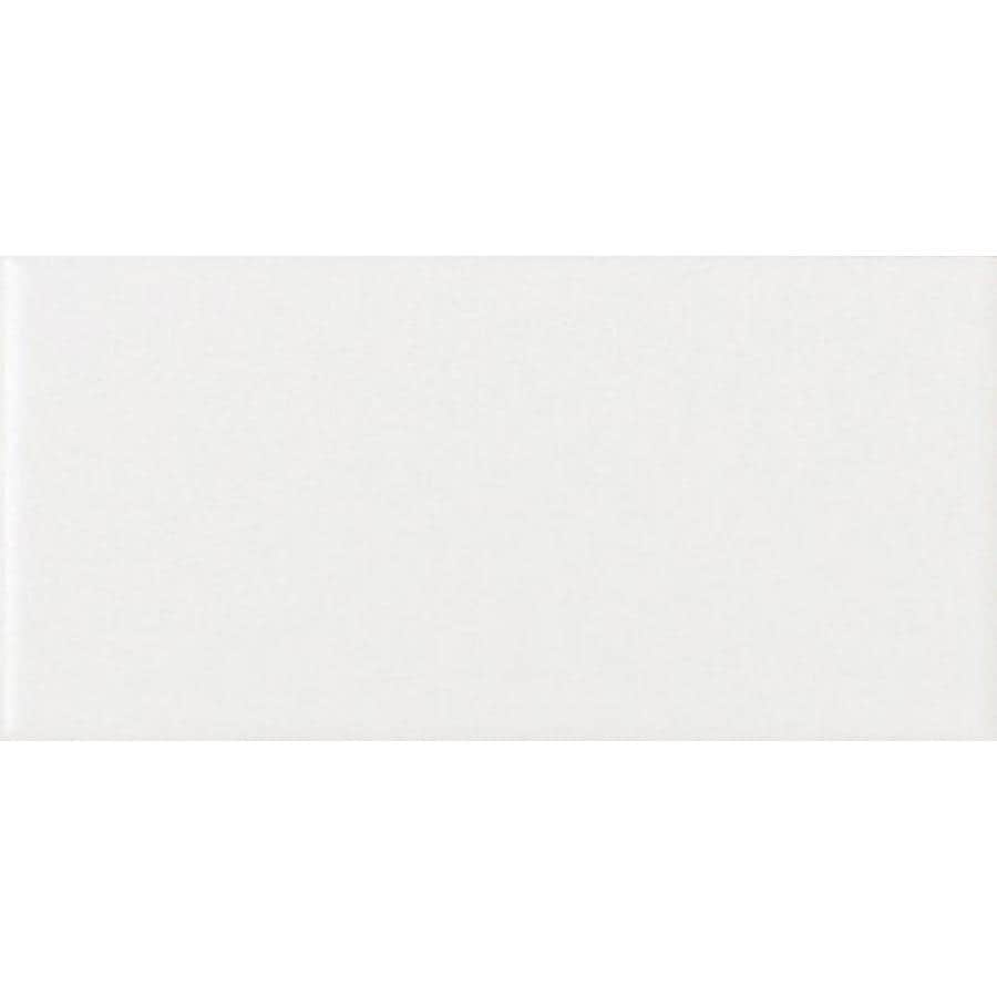 American Olean Matte 50-Pack Designer White Ceramic Wall Tile (Common: 6-in x 6-in; Actual: 6-in x 6-in)