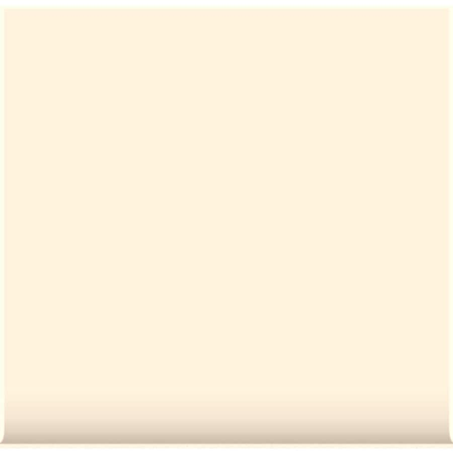 American Olean Matte Designer White Ceramic Cove Base Tile (Common: 6-in x 6-in; Actual: 6-in x 6-in)