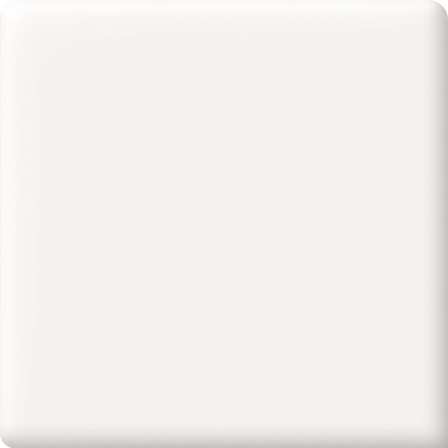 American Olean Matte Designer White Ceramic Bullnose Tile (Common: 2-in x 2-in; Actual: 2-in x 2-in)