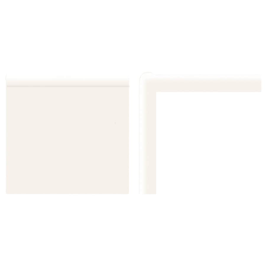 American Olean Matte Designer White Ceramic Mud Cap Tile (Common: 2-in x 2-in; Actual: 2-in x 2-in)