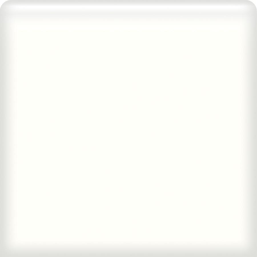 American Olean Bright Snow Mist Ceramic Bullnose Tile (Common: 6-in x 6-in; Actual: 6-in x 6-in)