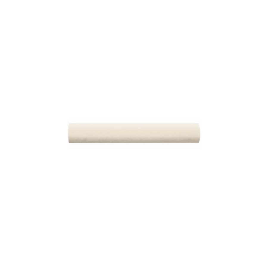 American Olean Bright Almond Ceramic Quarter Round Tile (Common: 1-in x 6-in; Actual: 1-in x 6-in)