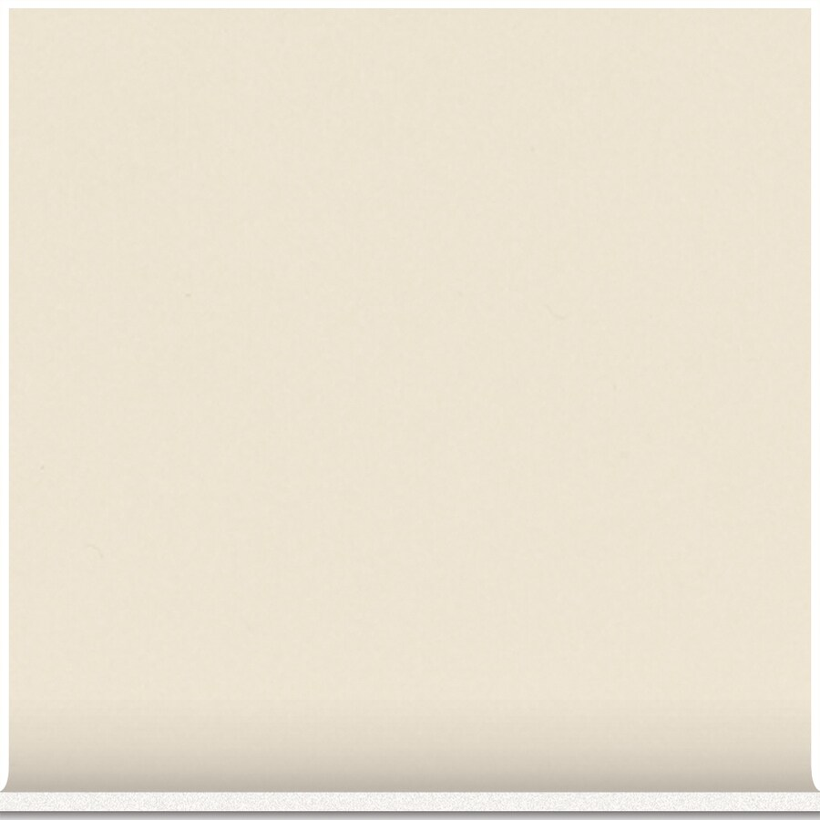 American Olean Bright Almond Ceramic Cove Base Tile (Common: 4-in x 4-in; Actual: 4.25-in x 4.25-in)